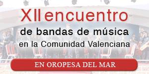 XI encuentro de bandas de música en la Comunidad Valenciana | Marina d-Or