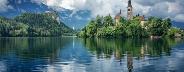 Ciudad alpina de Bled